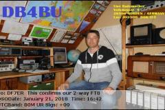 DB4BU-201801211642-80M-FT8