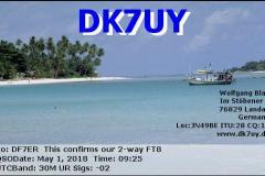 DK7UY-201805010925-30M-FT8