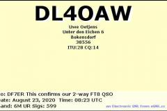DL4OAW-202008230823-6M-FT8